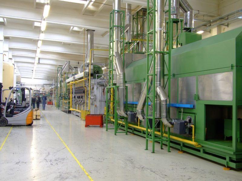 installation industrielle